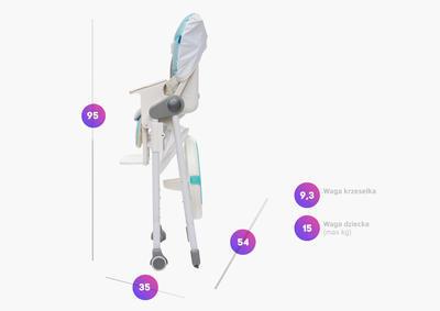 Jídelní židlička BABY DESIGN Lolly 2017 - 4