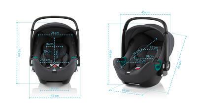 Autosedačka BRITAX RÖMER Baby-Safe iSense 2022 - 5