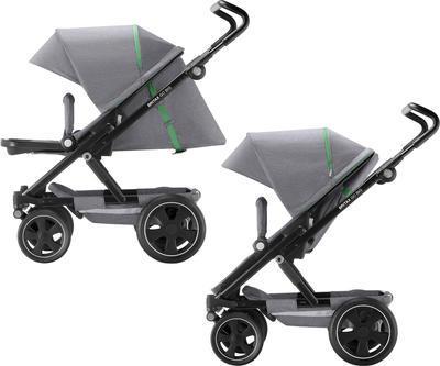 Kočárek BRITAX GO Big2 Premium Line 2019 včetně hluboké korby + autosedačka Baby-Safe i-Size ZDARMA, dynamic grey - 5