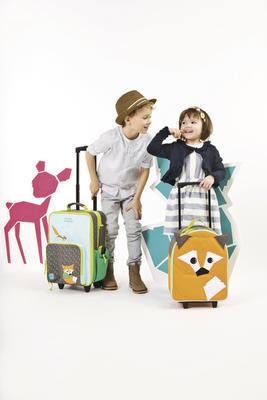 Dětský kufr LÄSSIG Mini Trolley 2016 - 5