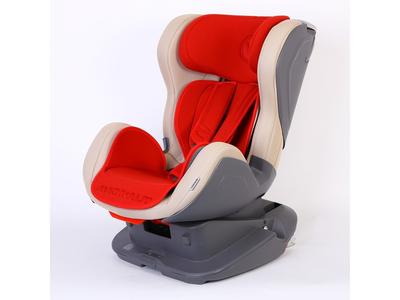 Autosedačka AVIONAUT Glider Isofix, béžová/červená - 5