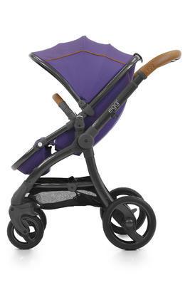 Kočárek BABYSTYLE Egg® 2018 včetně korby a autosedačky, gothic purple/gun metal rám - 5