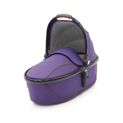Kočárek BABYSTYLE Egg® včetně korby a tašky 2017 + DÁRKY, gothic purple/gun metal rám - 5