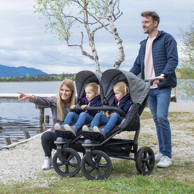 Sportovní sedačka TFK Stroller Seats Duo 2021, premium grey - 5