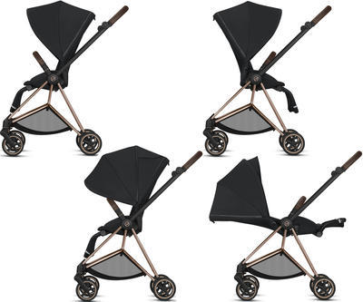 Kočárek CYBEX Mios Chrome Brown Seat Pack 2020 - 5