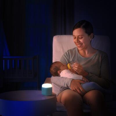 Noční světlo REER SleepLight 2v1 2021, modré - 5