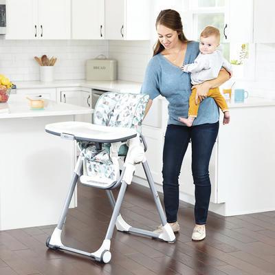 Jídelní židlička GRACO Swift fold 2021, rubix - 5