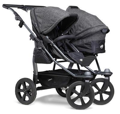 Kočárek TFK Duo Stroller Air Chamber Wheel Premium 2021 včetně Duo Combi Premium 2 autosedaček - 5