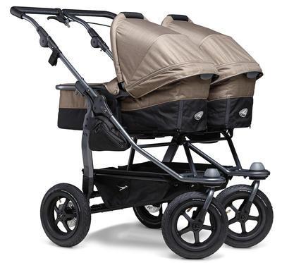 Kočárek TFK Duo Stroller Air Wheel 2021 včetně Duo Combi a 2 autosedaček - 5