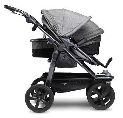 Kočárek TFK Duo Stroller Air Wheel Premium 2021 včetně Duo Combi Premium a 2 autosedaček - 5