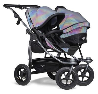 Sportovní sedačka TFK Stroller Seats Duo 2021, glow in the dark - 5