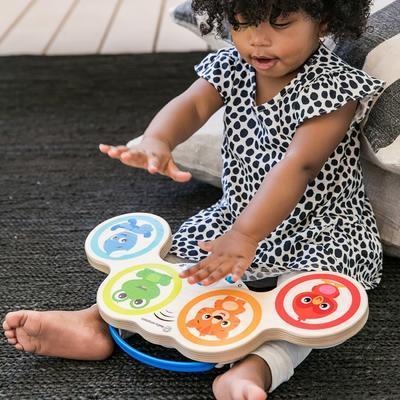 Dřevěná hudební hračka BABY EINSTEIN Bubny Magic Touch HAPE 6m+ 2020 - 5
