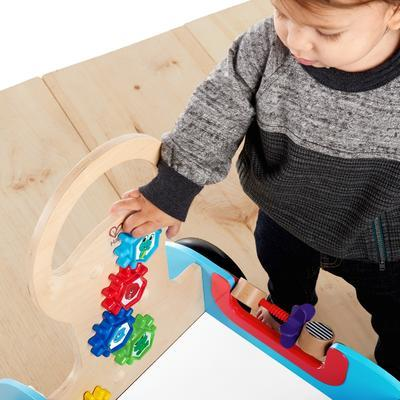 Dřevěná aktivní hračka BABY EINSTEIN Vlečka Discovery Buggy HAPE 12m+ 2020 - 5