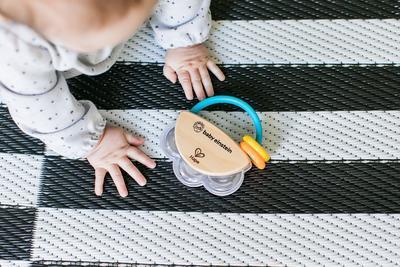 Dřevěná hudební hračka BABY EINSTEIN Tamburína Magic Touch HAPE 3m+ 2020 - 5