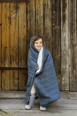 Deka VINTER & BLOOM Cuddly 2020, storm blue - 5