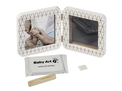 Rámeček BABY ART My Baby Touch Simple 2021, copper edition white - 5