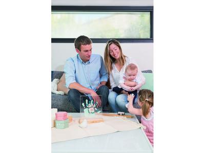 Dřevěný stojánek BABY ART Family Prints Wooden 2021 - 5