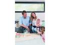 Dřevěný stojánek BABY ART Family Prints Wooden 2021 - 5/5
