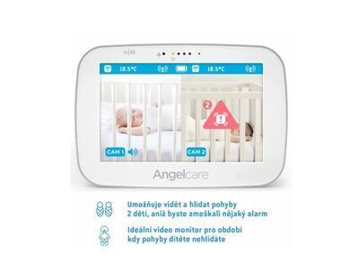 ANGELCARE AC527 Monitor pohybu dechu a elektronická video chůvička 2021 - 5