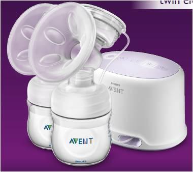 Odsávačka mateřského mléka AVENT Natural elektronická DUO 2019 - 5