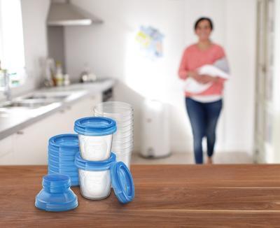 VIA zásobníky AVENT na mateřské mléko 2020 - 5