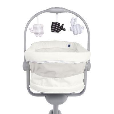 Postýlka/lehátko/židlička CHICCO Baby Hug 4v1 White snow 2020 - 5