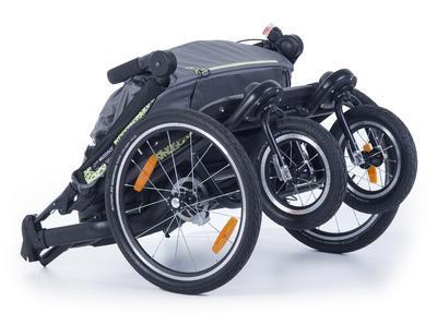 Kočárek TFK Joggster Velo 2020 včetně korby a Joggster Velo Stroller hinge bicykle clutch - 5