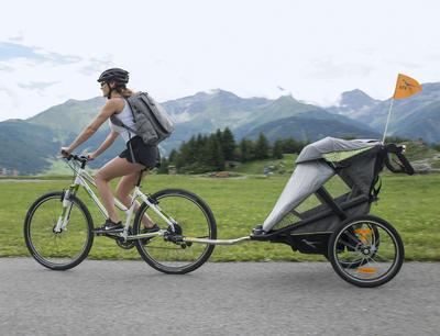 Úchyt TFK Joggster Velo Stroller hinge bicykle clutch 2021 - 5