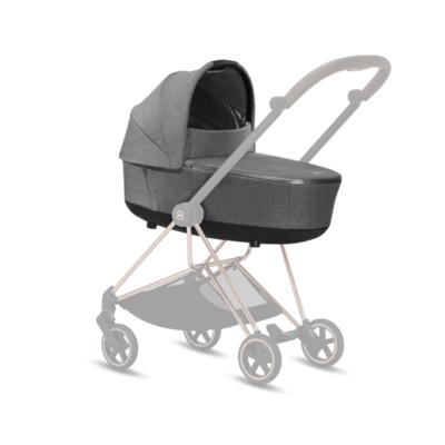 Kočárek CYBEX Mios Matt Black Seat Pack PLUS 2021 včetně korby, manhattan grey - 5