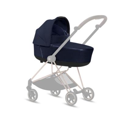 Kočárek CYBEX Mios Matt Black Seat Pack PLUS 2021 včetně korby, midnight blue - 5