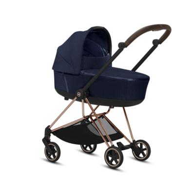 Kočárek CYBEX Mios Rosegold Seat Pack PLUS 2021 včetně korby, midnight blue - 5