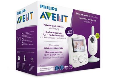 Dětská elektronická videochůvička AVENT SCD831 2021 - 5