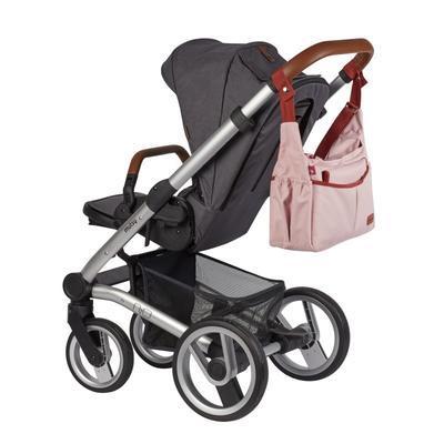 Přebalovací taška BABYMOOV Urban Bag 2021, melanged pink - 5