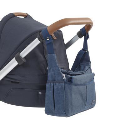 Přebalovací taška BABYMOOV Urban Bag 2021, melanged blue - 5