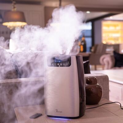 Digitální zvlhčovač a čistička vzduchu BO JUNGLE B-Sensy Humi-Purifier 2021 - 5