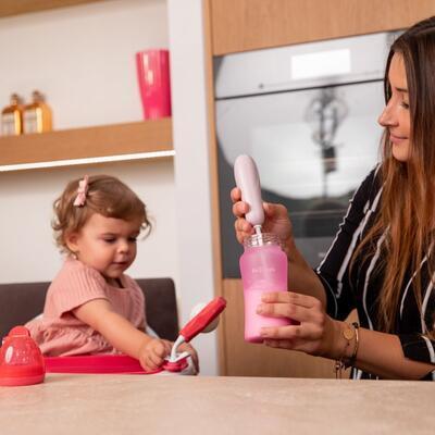 Mixér na sušené mléko BO JUNGLE B-Powder Mixer 2021, pastel pink - 5