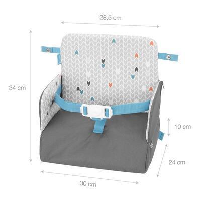 Přenosná jídelní židlička BADABULLE Yummy Travel 2021 - 5