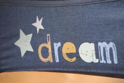 Cestovní postýlka BABY DESIGN Dream 2020, 03 - modrá - 5
