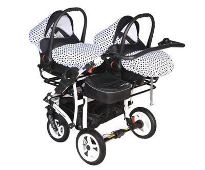 Kočárek DORJAN Twin DS5 2021 včetně autosedaček - 5