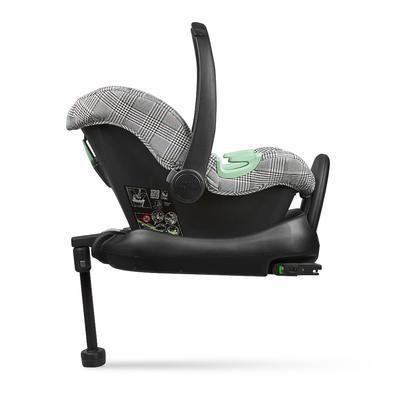 Autosedačka ABC DESIGN Set Tulip + adaptéry 2021, smaragd FASHION EDITION - 5