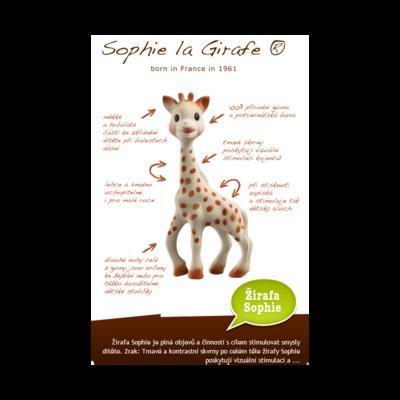 Trio VULLI Žirafa Sophie So'PURE (dárkové balení) 2020 - 5