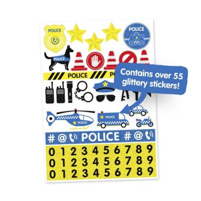 Kufřík + odrážedlo  TRUNKI 2020, policejní auto Percy - 6