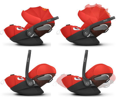 Kočárek CYBEX Set Priam Lux Seat Ferrari Fashion 2021 včetně Cloud Z i-Size Ferrari Fashion - 6