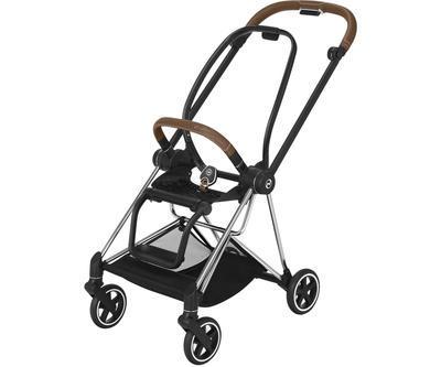 Kočárek CYBEX Mios Chrome Brown Seat Pack PLUS 2021 včetně korby, stardust black - 6