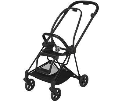 Kočárek CYBEX Mios Matt Black Seat Pack PLUS 2021 včetně korby, stardust black - 6