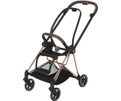 Kočárek CYBEX Mios Rosegold Seat Pack PLUS 2021 včetně korby, manhattan grey - 6