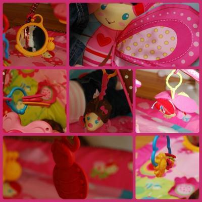 Hrací deka s hrazdou TINY LOVE Gymini Tiny Princess Move 2019 - 6