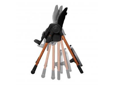 Rostoucí jídelní židlička MAXI-COSI Minla 6v1 Essential 2021, graphite - 6