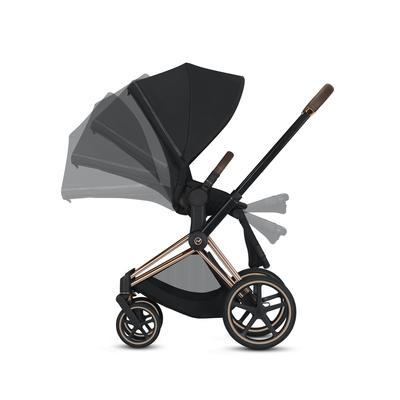 Kočárek CYBEX Priam Chrome Brown Seat Pack PLUS 2021 - 6