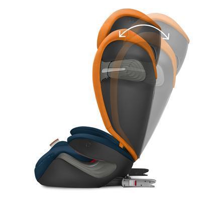 Autosedačka CYBEX Solution S-FixGold Line 2019 + DÁREK, premium black - 6